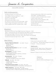 Carpenter Resumes Free Resume Example And Writing Download