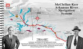 Mcclellan Kerr Arkansas River Navigation System Mkarns From The Confluence Of The White River And Mississippi River To The Verdigris River At The
