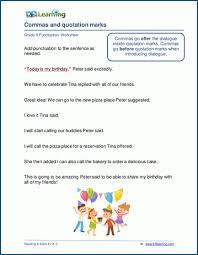 Grade 5 Punctuation Worksheets K5 Learning