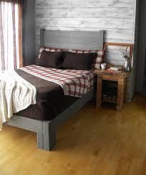 Primitive Bedroom Furniture Platform Bed Platform Beds Bed Frame Reclaimed Wood