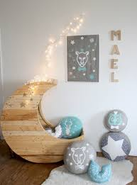 if you have a baby this crib with a unique shape of a crescent moon will adorn your baby room every day or if you are preparing yourself to become a