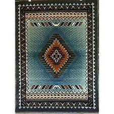 native american throw rugs interior practical native area rugs com south west rug blue brown