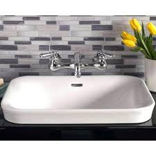 square drop in bathroom sinks plumbing porcelain drop in bathroom sink no faucet drop in bathroom square drop in bathroom sinks