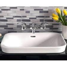 square drop in bathroom sinks plumbing porcelain drop in bathroom sink no faucet drop in bathroom square drop in bathroom sinks
