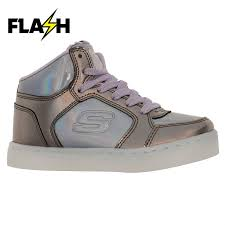 Energy Lights For Girls Details About Skechers Kids Girls Energy Light Mid Top Trainers Up Lace