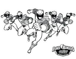 Power Ranger Coloring Picture Mighty Power Rangers Coloring Pages