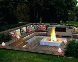 cool patio furniture ideas. Awesome Backyards Fascinating Furniture Ideas Sunken Fire Pit Cool Backyard  Patio