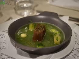 Ricette degli chef: Robert Žibrat –Vellutata di aglio orsino