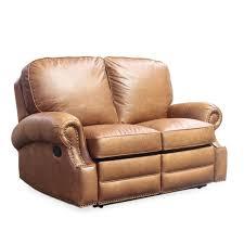 saddle leather reclining sofa beautiful barcalounger longhorn leather reclining loveseat
