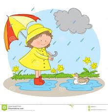 rainy season clipart  spring season clipart