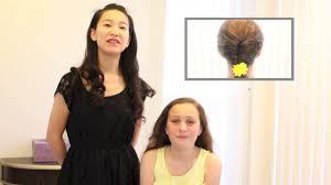 フィッシュテールの編み込み かんたん かわいい 女の子のヘアスタイル