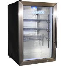 bar fridge glass beverage er glasser doors stylized