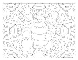Small Picture 009 Blastoise Pokemon Coloring Page Windingpathsartcom