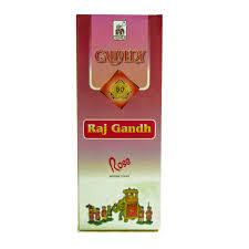 cauvery raj gandh rose incense sticks 9inches length 1stick
