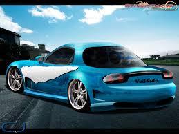 Car Picker - blue mazda Rx7