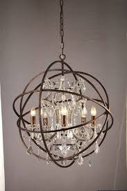 stunning crystal sphere chandelier 31 pspf720012 2 jpg 1422396414 throughout orb decor 5 architecture foucault s