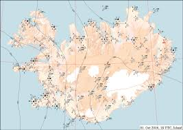 Atlantic Weather Charts 13 Synoptic Weather Charts For A Iceland And B The