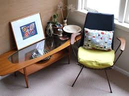 see through coffee table retro style armchairs for your living room mid century coffee table coffee