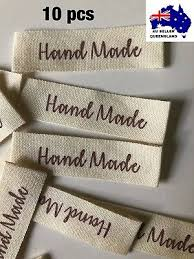 Diy Clothing Label Diy Crochet Pink Handmade With Love Clothing Label Woven