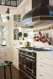La Cornue Kitchen Designs Delectable Amazing Kitchen With La Cornue CornuFe Range In Glossy Black And