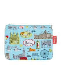 london map cosmetic bag