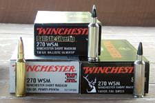 7 Wsm Ballistics Chart Winchesters 270 7mm Short Magnums