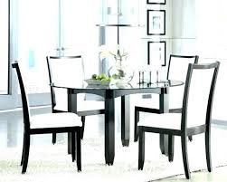 glass dining table and 6 chairs argos 2 round to appealing furniture alluring d black 4
