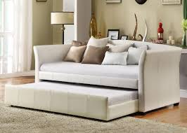 image of amazing trundle bed couch