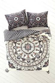 boho duvet covers queen magical thinking yaella medallion duvet cover full queen pillow cases too