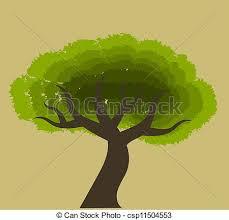 african tree vector. african tree - csp11504553 vector w