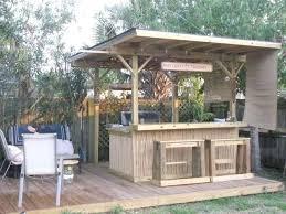 outdoor bar roof design