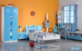 Orange And Blue Bedroom Interactive Kid Blue And Orange Bedroom Decoration Using Light
