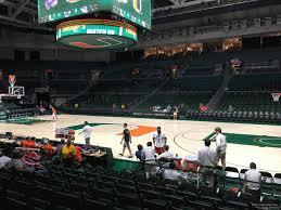 Watsco Center Seating Chart Basketball Watsco Section 122 Rateyourseats Com