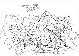 Tarbosaurus Theropod Dinosaurus Kleurplaat Gratis Kleurplaten Printen