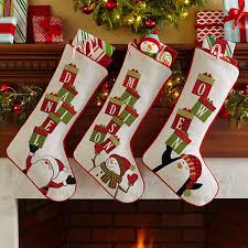 christmas stockings with names. Simple With Stacking Presents Name Stocking Inside Christmas Stockings With Names N