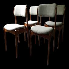 dining room table and chairs radiant vintage erik buck o d mobler inspiration of round table dinette