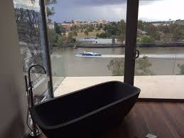 dark grey castello bath in brisbane home