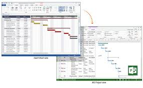 Ms Project Gannt Chart Gantt Chart Software Create Gantt Charts Free Trial