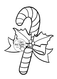 Small Picture candy cane coloring pages for kids printable free