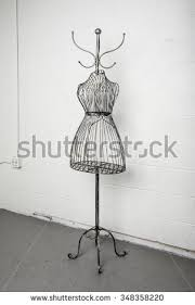 Wire Coat Rack Vintage Metal Coat Rack Metal Wire Stock Photo 100 Shutterstock 91