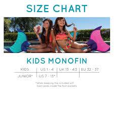 Body Glove Size Chart Kids