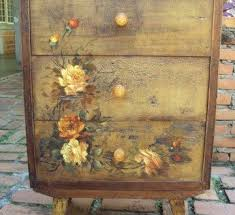 floral decoupage furniture. Bright And Modern Decoupage Furniture Ideas Diy On Wood For Floral