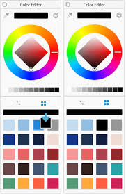 Windows 10 Color Scheme Color Palettes In The Different Versions Of Autodesk Sketchbook