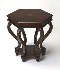 Cherry accent table Butler Specialty National Furniture Supply Butler Margaret Plantation Cherry Accent Table 1560024