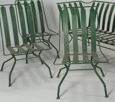 art deco outdoor furniture. Photo 1 Of 10 Art Deco Outdoor Furniture. Lot 589 French Patio Furniture Settee U0026amp 3 Chairs