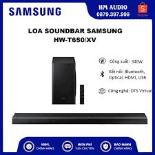 Loa Soundbar Samsung HW-T650 3.1ch (340W), Hàng chính hãng tại Hà Nội