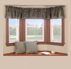 Living Room Bay Window Curtain Ideas  Decorating ClearBay Window Blind Ideas