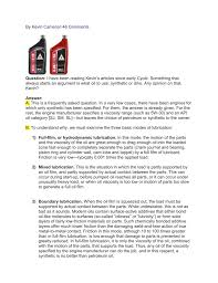 How To Read Oil Viscosity Chart By Kevin Cameron 46 Comments Question I Have Been Reading