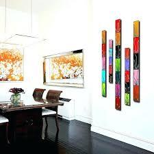 vertical wall decor surprising design vertical wall decor home wallpaper art large set fl of 5 vertical wall decor