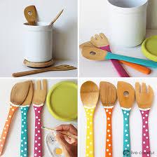 DIY Color your Kitchen Utensils Live Colorful